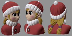 3D Modell in ZBrush