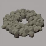 Automatische Anordnung der Steine mit NanoMesh